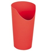 Beker nosey 237 rood
