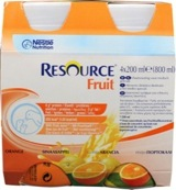 Fruit sinaasappel 200 ml