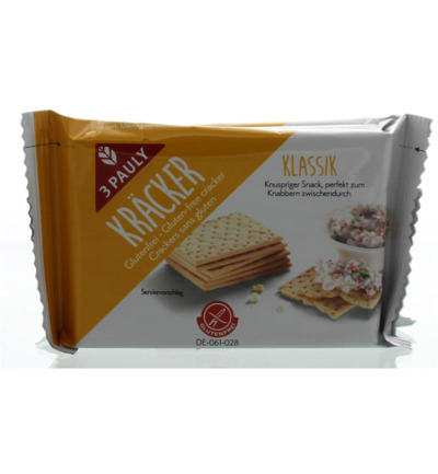 Mais crackers 3x50 gram