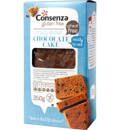 Consenza Double Chocolate Cake (350g)