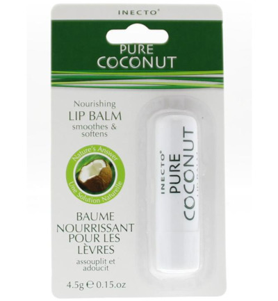 Coconut nourishing lip balm