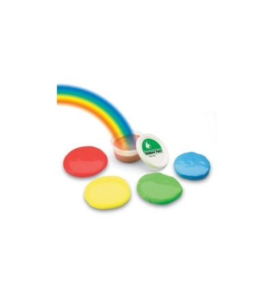 Rainbow putty medium soft rood 170 gram