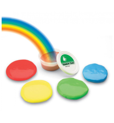 Rainbow putty medium soft rood 454 gram