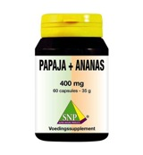 Papaja -ananas 400 mg