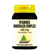 Vitamines mineralen complex 450 mg