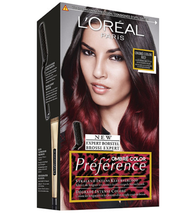 Preference ombre red 6.66