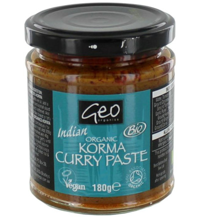 Curry paste korma