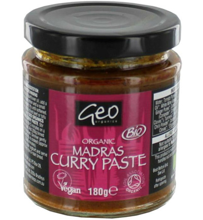 Curry paste madras