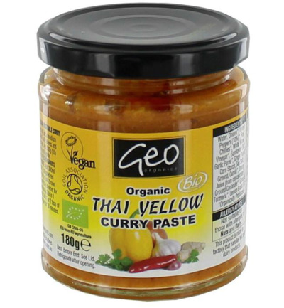 Curry paste thai yellow
