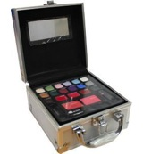 Colour traveller make-up case