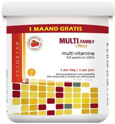 Multi chew multivitamine