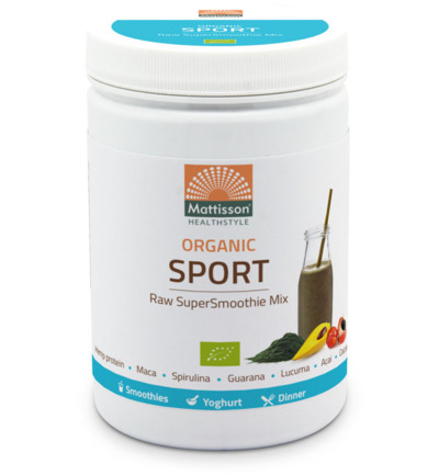 Absolute supersmoothie sport mix bio