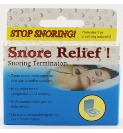Snore relief