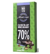 Chocolate dark dessert 70%