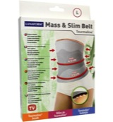 Mass & slim toermaline belt L