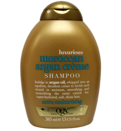 Luxurious moroccan argan creme shampoo