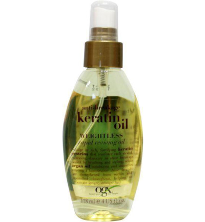 Anti breakage keratin oil instant repair