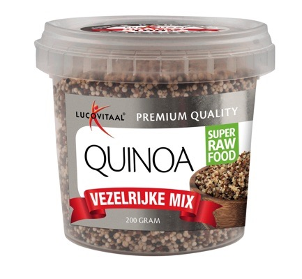Lucovitaal Super Raw Food Quinoa Emmertje 200gram