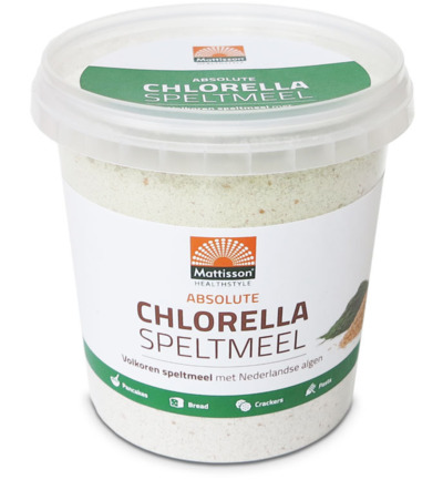 Absolute chlorella speltmeel brood