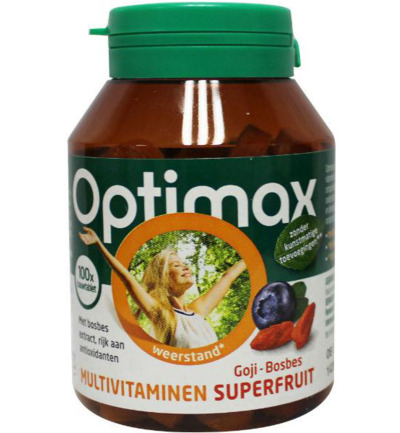 Multivitaminen superfruit goji-bosbes