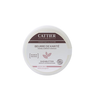 CATTIER BODYBUTTER SHEA  Cert 20ML