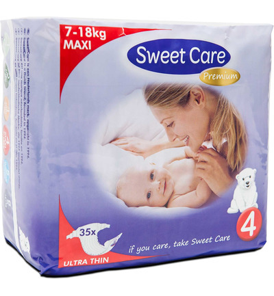 SWEETCARE LUIERS ULT.D MAXI 4 35 ST