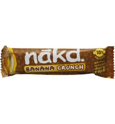 Banana crunch bar