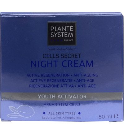 Cells secret nachtcreme
