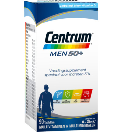 Centrum Multivitamine Men 50plus 90tabl