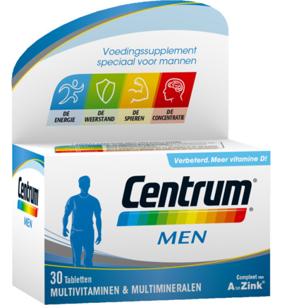 Centrum Multivitamine Men 30tabl