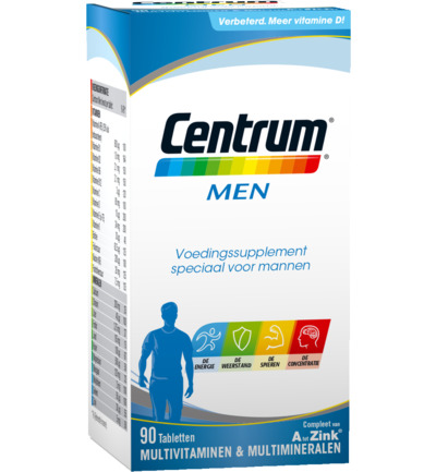 Centrum Multivitamine Men 90tabl