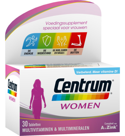 Centrum Multivitamine Women 30tabl