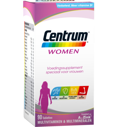 Centrum Multivitamine Women 90tabl