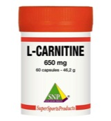 L-Carnitine 650 mg puur