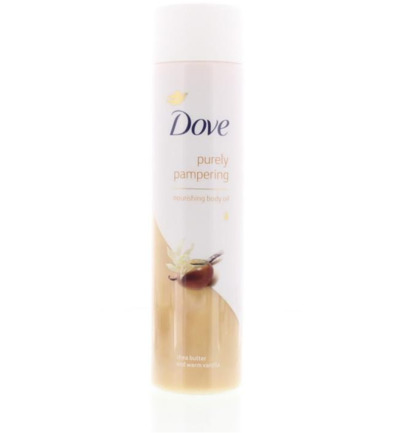 Purely pampering body oil nourishing