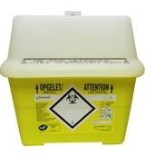 Naalden container 2.0 liter sharps