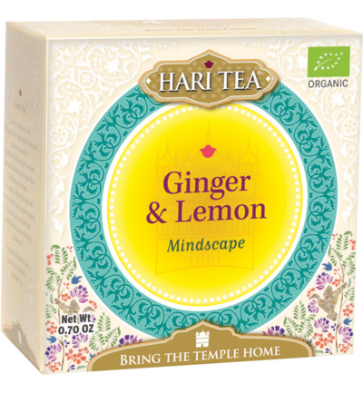 Mindscape ginger & lemon