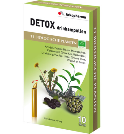Detox drinkampullen 15 ml