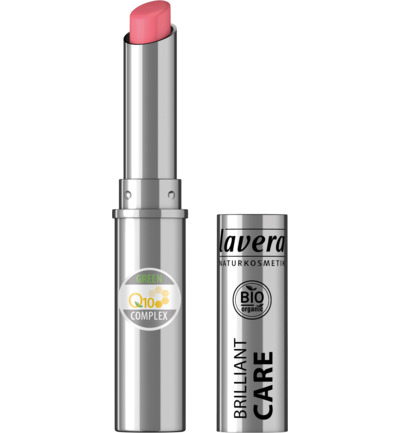 Lipstick brilliant care strawberry pink 02