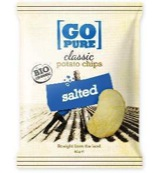 Chips naturel gezouten