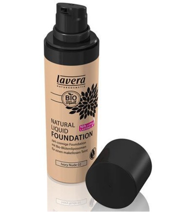 Liquid foundation ivory nude 02