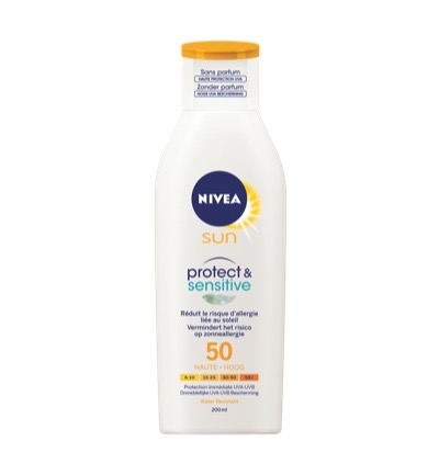 Sun lotion protect and sensitive SPF50