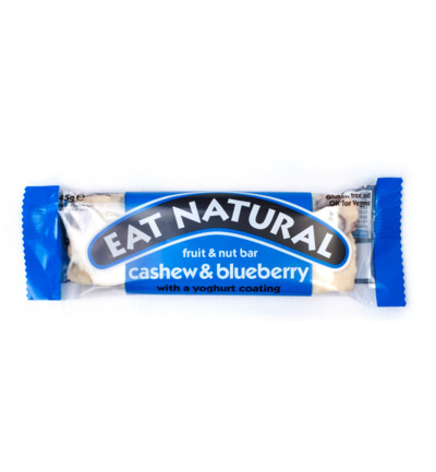 Afbeelding van Eat Natural Cashew Blueberry Yoghurt (45g)