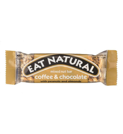 Afbeelding van Eat Natural Coffee Chocolate Peanut (45g)