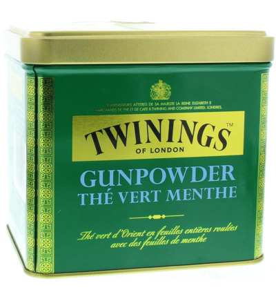 Gunpowder blik mint