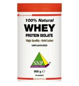 Whey proteine isolate 100% natural