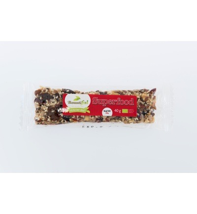 Healthy bar superfood bio