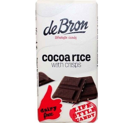 Tablet cacao rice lactosevrij