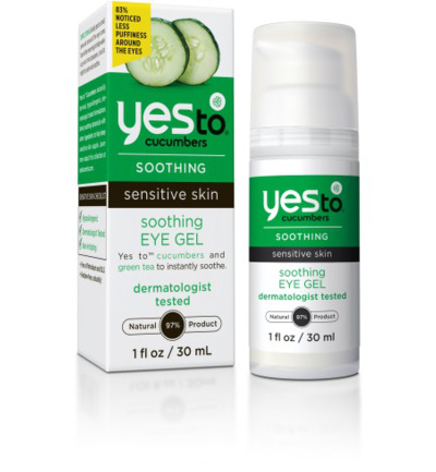 Cucumber eye gel soothing