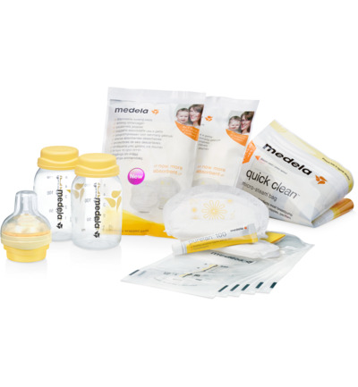 Store & feed kit breastmilk